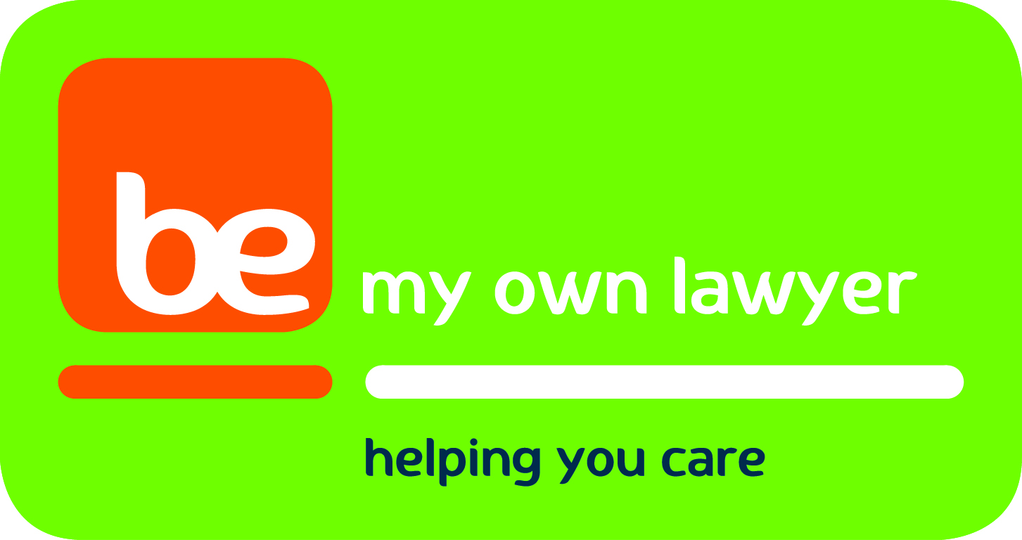 BE My Own Lawyer logo