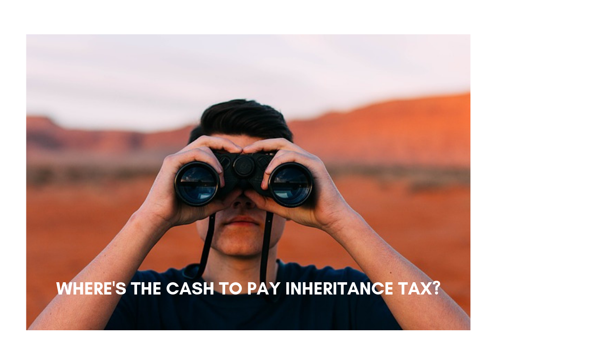 How to pay inheritance tax